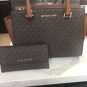 Mk handbags with wallet